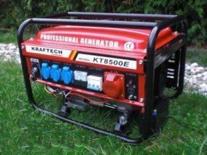 Stromerzeuger mit E-Start