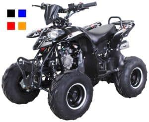 125ccm Quad mit der Farbe Schwarz