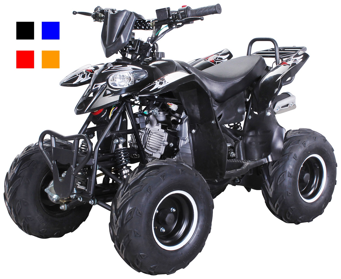 quad 125 ccm miniquad atv kinderquad pocketquad pocketbike kinderquad jugend alpha der shop. Black Bedroom Furniture Sets. Home Design Ideas