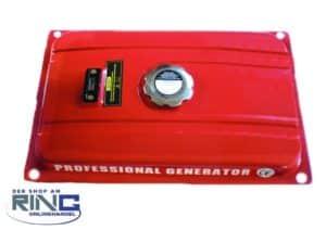 Benzintank für Stromaggregat
