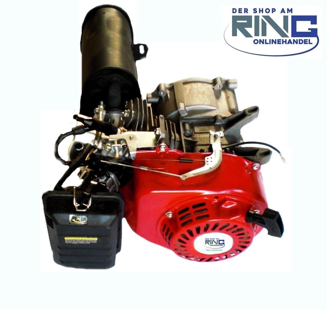 benzinmotor motor 4 takt 196 ccm 6 5 ps kart stromerzeuger generator der shop am ring. Black Bedroom Furniture Sets. Home Design Ideas