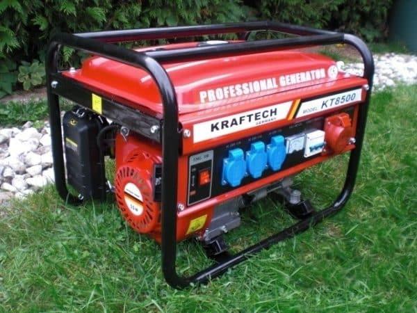 Notstromaggregat mit 6500 Watt Generator