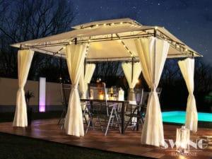 Designer Pavillon für den Garten