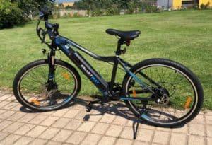 E-Bike mit Lithiumbatterie